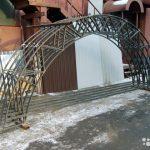 Изготовление металлических ферм для навесов