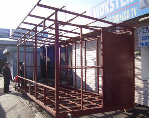 Каркас постройки, дома, гаража, хозблока, бытовки, веранды, пристройки