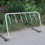 Парковка для велосипеда. Стойка для велосипеда