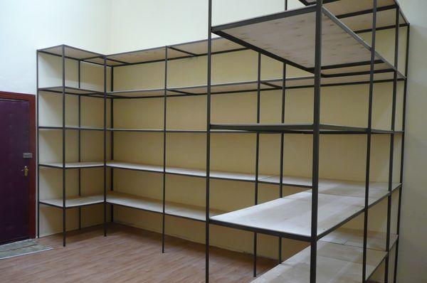 Стеллажи для гаража, склада, офиса, дома, подсобного помещения, консоли под полки