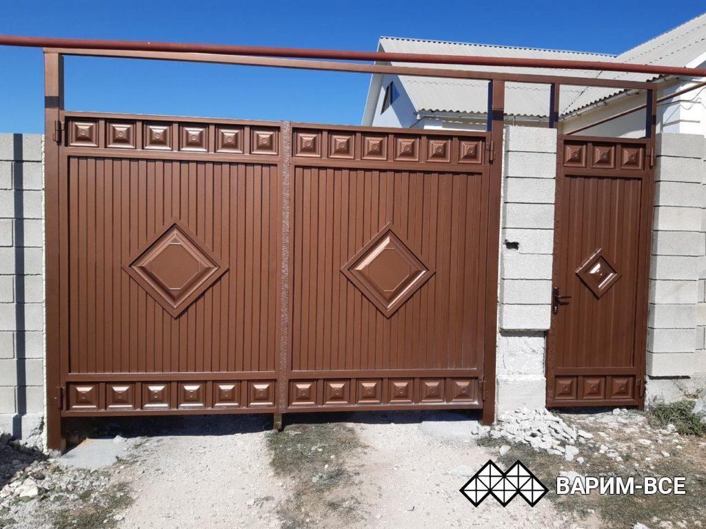 Ворота из филенки в Симферополе, цены и фото