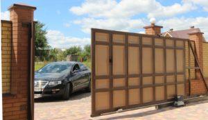 Сдвижные, Раздвижные ворота в Симферополе