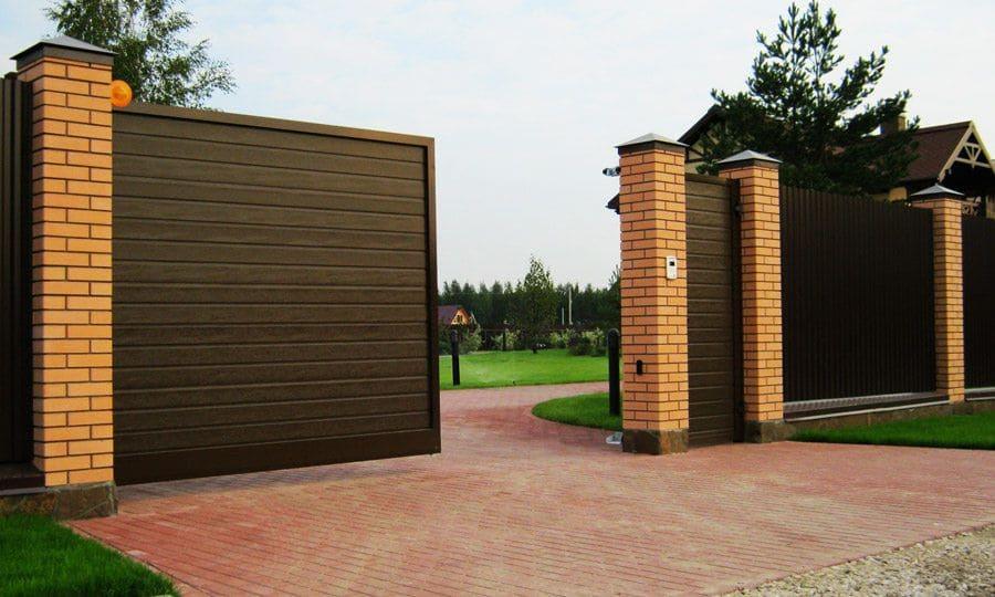 Въездные ворота в Симферополе