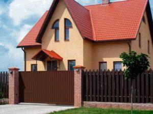Ворота для дома и дачи в Симферополе