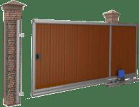 Ворота распашные, откатные, секционные, гаражные в Симферополе