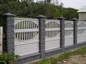 Бетонные заборы, еврозабор в Симферополе