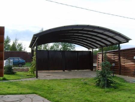 Навес для двора, дома, для машины, автомобиля в Симферополе, Крыму